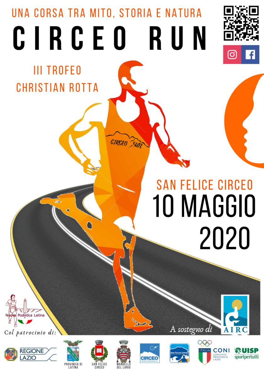 Locandina Circeo Run 2020